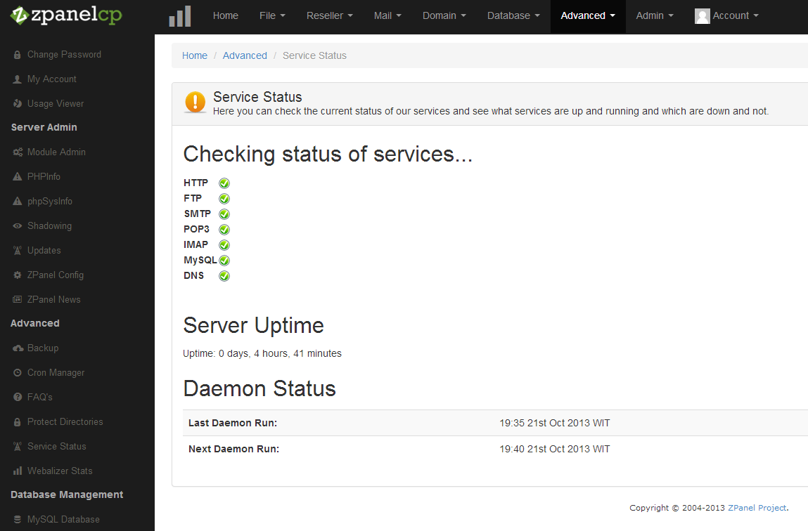 zpanel-service-status-geeklk