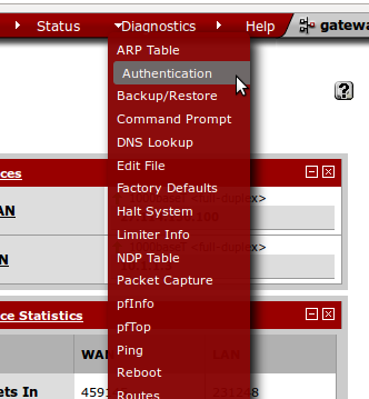 pfSense - configuring Windows Active directory authentication | GeekLK