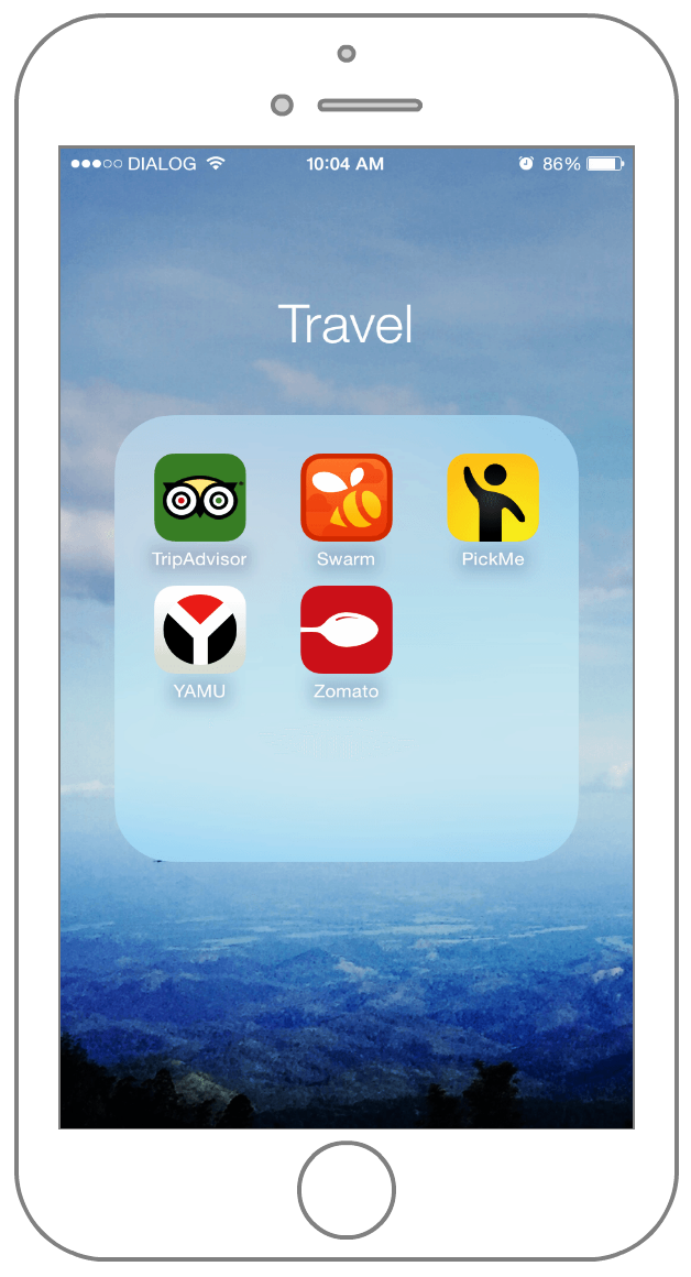 travel apps for iphone what s on my iphone get a personal look at my iphone 6 16301